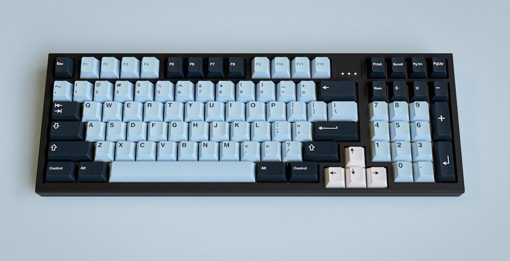 GMK Mizu - Group-Buy Mechanical Keyboard Kit - European