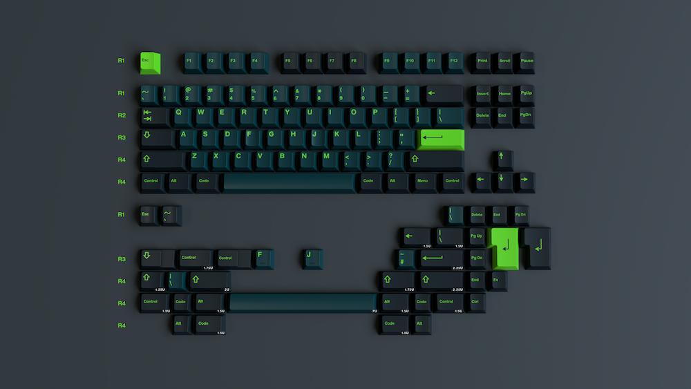 GMK Wavez - Group-Buy Mechanical Keyboard Kit - European